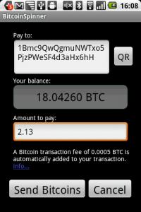 bitcoin+spinner+movil+aplicacion+billetera+celular
