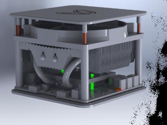 Disipador de calor del Single-BFL