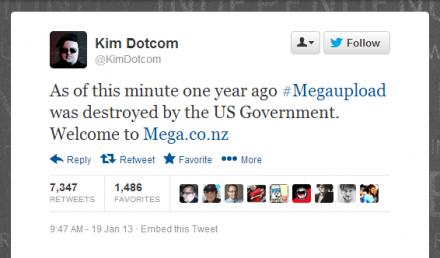 kim dotcom-tweet-lanzamiento-mega