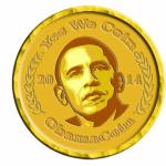 "ObamaCoin promete ""esperanza y cambio"""
