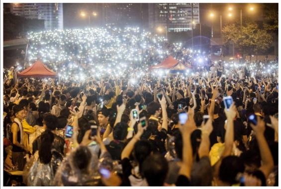 Protestors-mesh-network-firechat