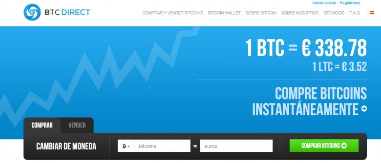BTCDirect-sitio-web